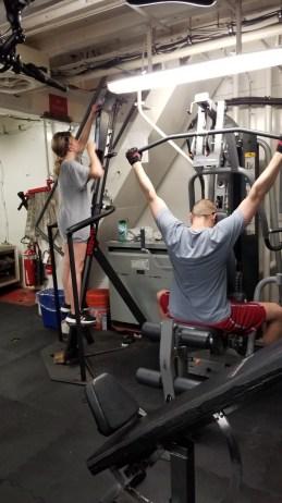 Workout machines