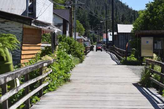 Main Street, Pelican, Alaska