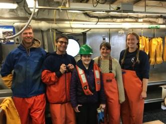 The fish lab crew!