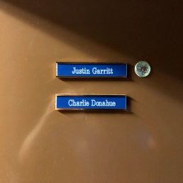 Names on our door