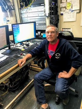 Les Andreason, Electronics Technician