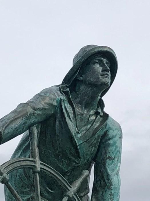 The Gloucester Fisherman's Memorial Statue
