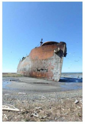 WWII shipwreck