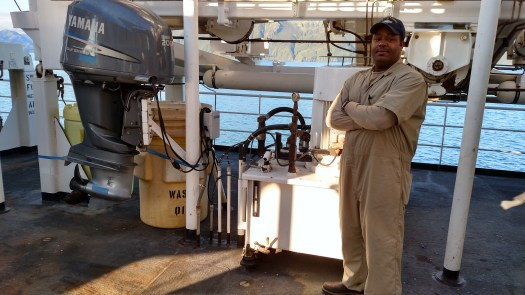 Johnny Brewer, Marine Engineer