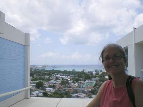 Meg at University of the West Indies
