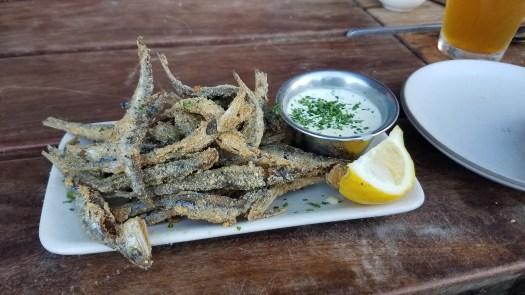 Fried Sardine Appetizer