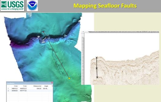 Mapping Seafloor Faults