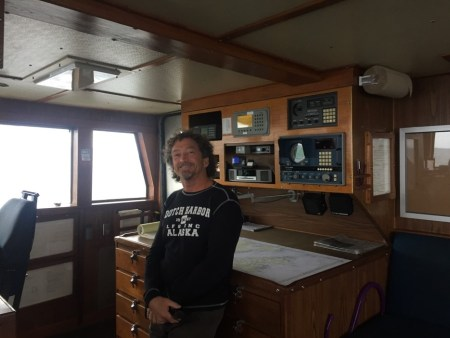 Dan Puterbaugh, first mate