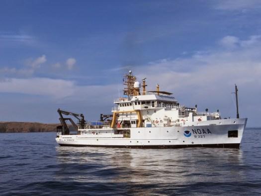 NOAA Ship Bell M. Shimada
