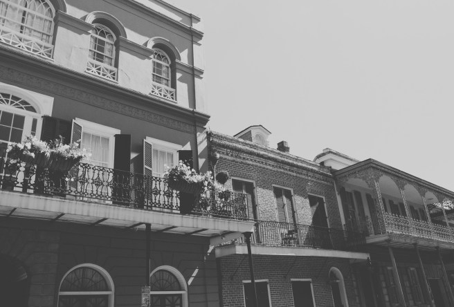 The site of the former LaLaurie house on Royal