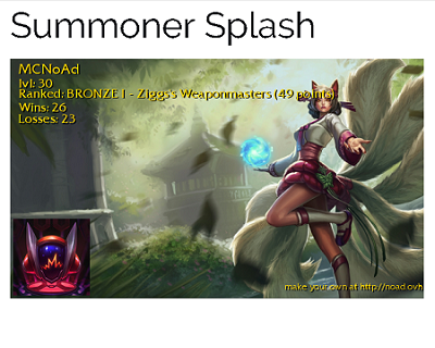 Summoner Splash (League of Legends)