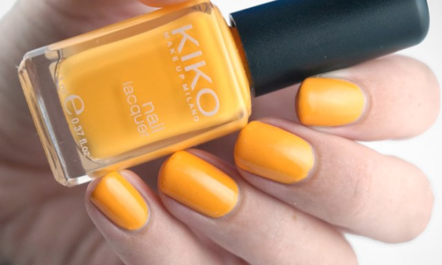 swatch of Kiko - 356 Mango