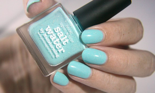 swatch of picture polish saltwater