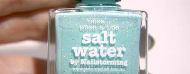 bottle shot of picture polish salwater