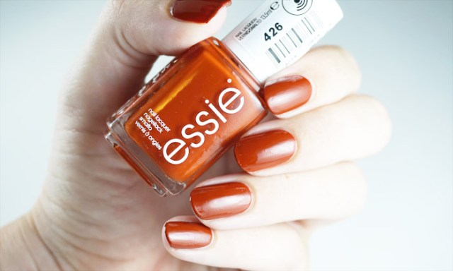 swatches of Essie playing koi