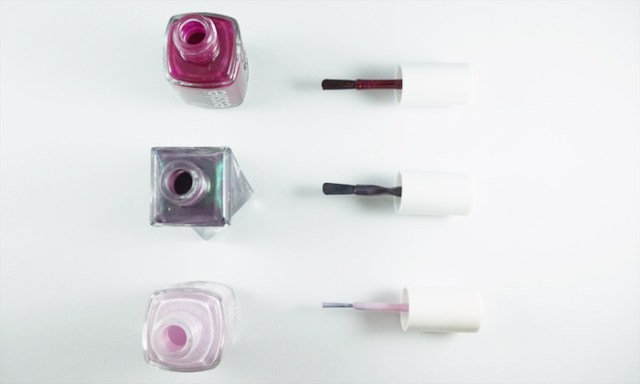 comparison of the US essie brush, EU brush and gel couture brush