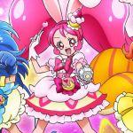 キラキラ☆プリキュアアラモードがスタート! はじめてのDVDと変身シーン