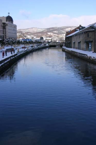 魅力度ランキング4位の小樽市 2005年撮影