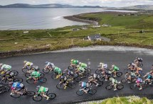 An Post Ras 2016: Hard to look in front of you with these views.