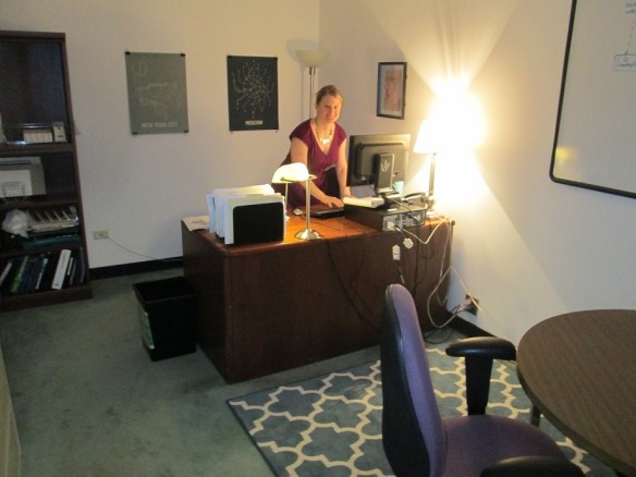 Emily Osgood's Office at HPD