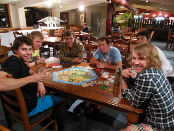 New Zealand Settlers of Catan Game