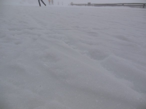 Rutted Snow in New Zealand