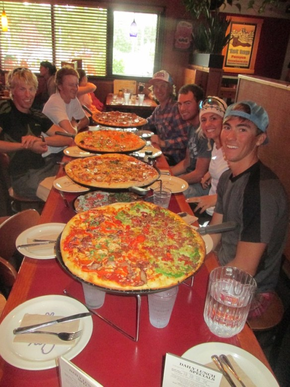Pizza at Moose's Tooth in Anchorage, Alaska