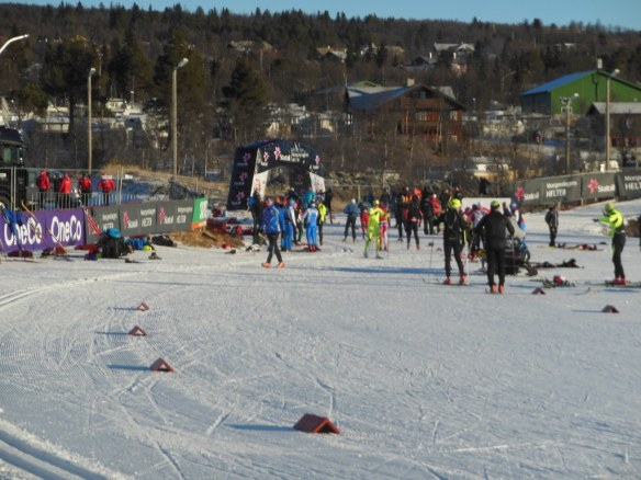High Level Skiers in Beitostølen