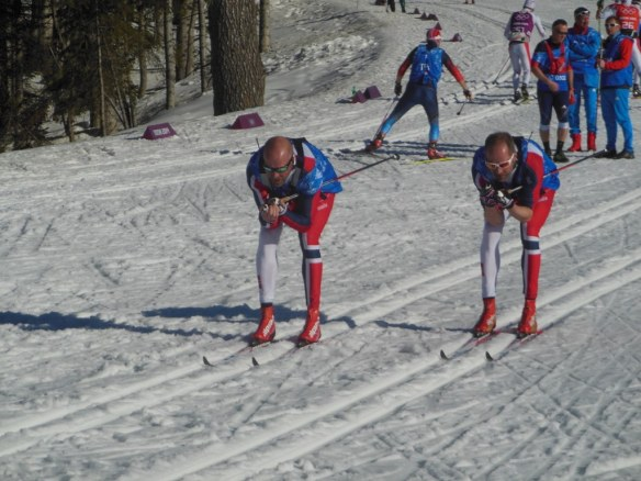 Norwegian Wax Technicians Doing Glide Out at Sochi Olympics