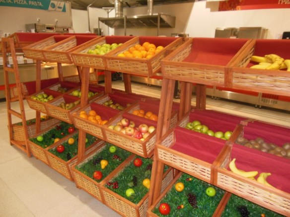 Fresh Fruit in Sochi 2014 Olympic Dining Hall