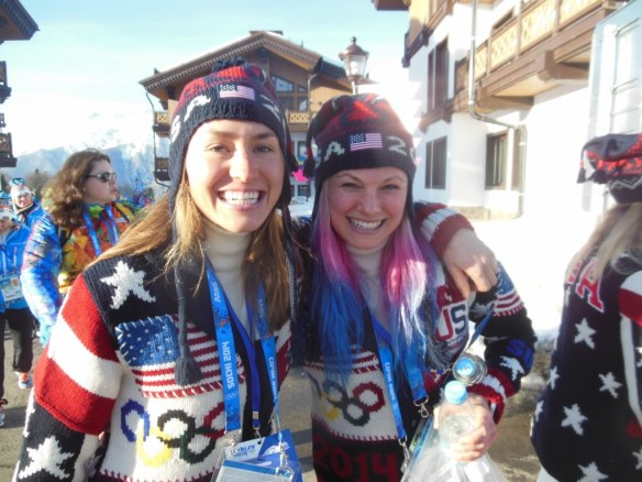 Sophie Caldwell and Jessie Diggins Heading to Olympic Opening Ceremonies
