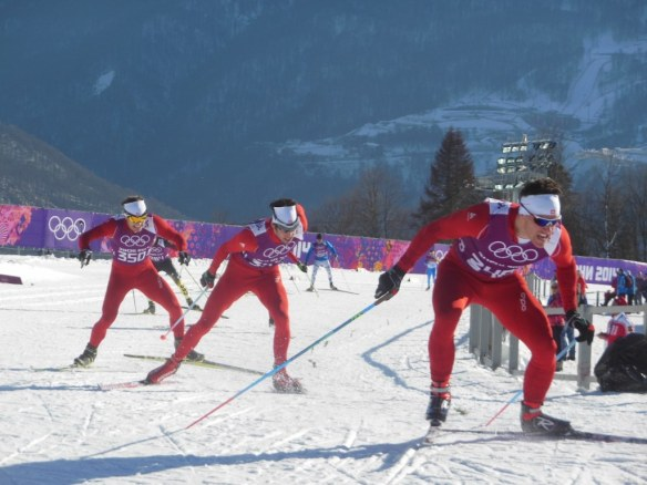 Swiss Skiers Sprinting For Olympic Start Spots