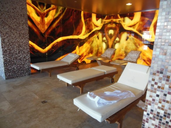 Relaxation Area in Sochi Olympic Village Pool