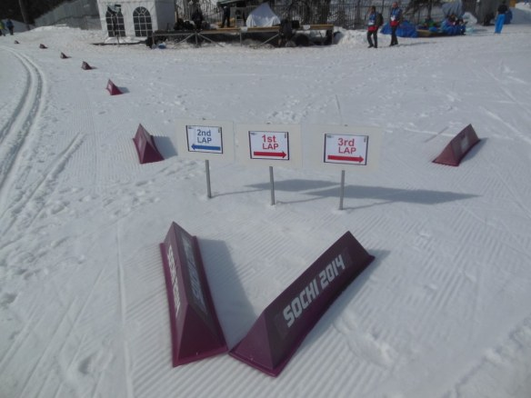 Olympic 15 kilometer Classic Decision Point