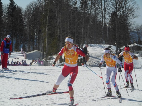 Women's O,ympic Relay Chase Group Containing Norway
