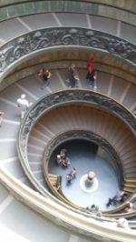 ヴァチカン美術館、螺旋階段