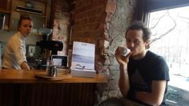 At Tim Wendelboes coffee roastery