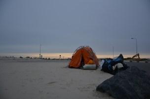 Camping in Denmark, Hirtshals harbour