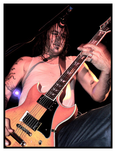 HIGH ON FIRE @ Gibus