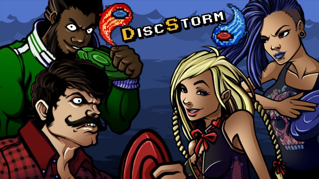 DiscStorm Main Indie Game