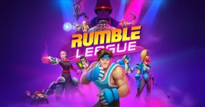 Rumble League Cover