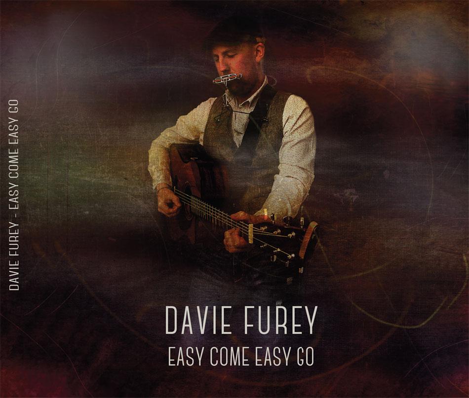 Davie Furey - Front Cover Album Design.
