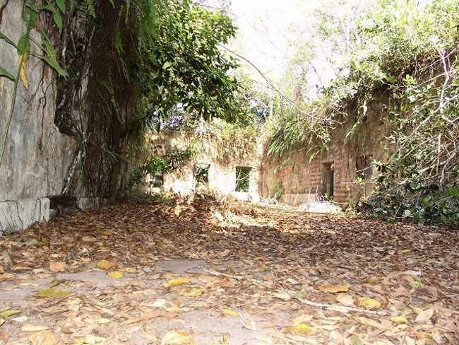 Sala Interna das Ruinas de Paricatuba