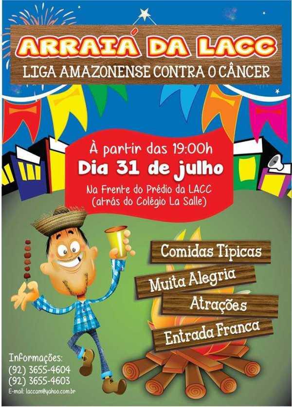 Arraial da Liga Amazonense Contra o Câncer -LACC
