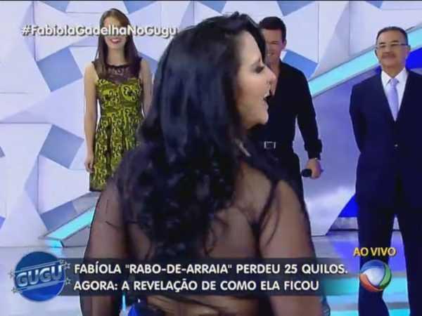 Fabíola Gadelha reaparece 25 quilos mais magra