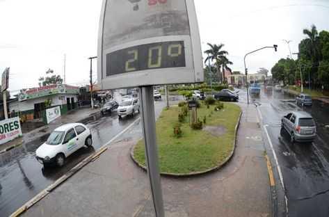 """""""Friagem"""" permanece no fim de semana em Manaus, segundo previsão"""