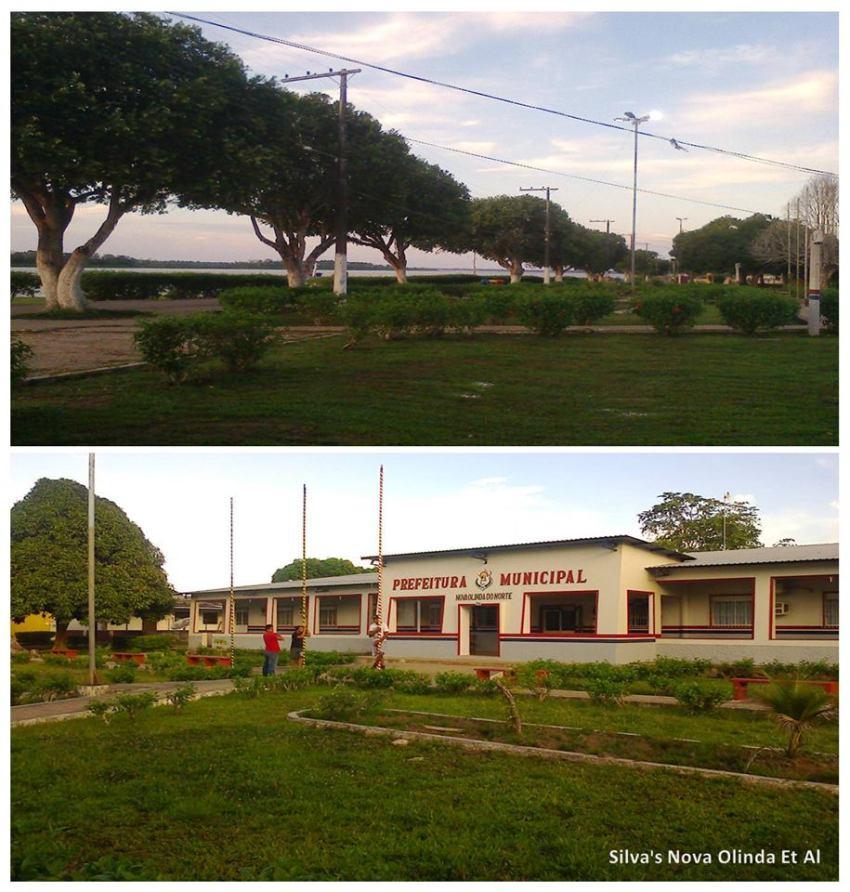Local onde estão localizados, os órgãos que formam o poder judiciário da cidade de Nova Olinda do Norte.