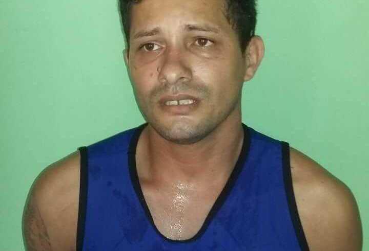 O suspeito, Francinaldo Marialva Pereira, era vizinho da menina / Foto: Divulgação