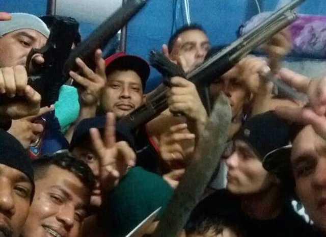 Integrantes da facção criminosa FDN fazem funk AMEAÇANDO o Estado e exaltando o massacre / Foto : Divulgação