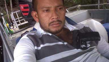 Garrote quando ainda estava foragido, braço-armado das operações mais complexas da FDN no Rio Amazonas (Reprodução)